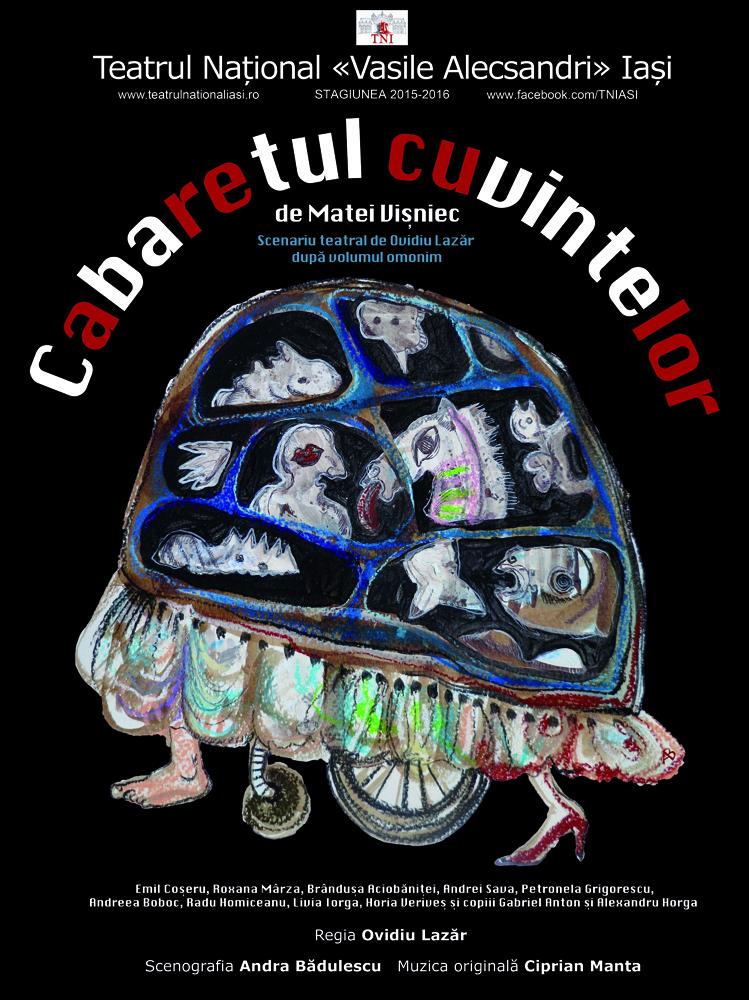"""""""Cabaretul cuvintelor"""" Teatrul National Iasi"""