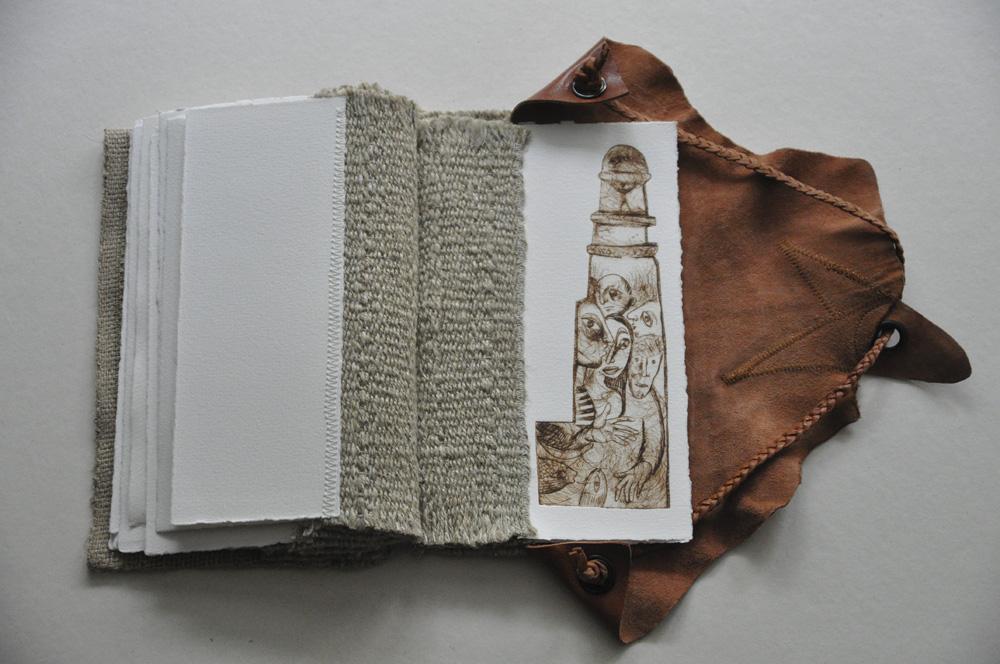 "Livre d'artiste ""Marseille"""