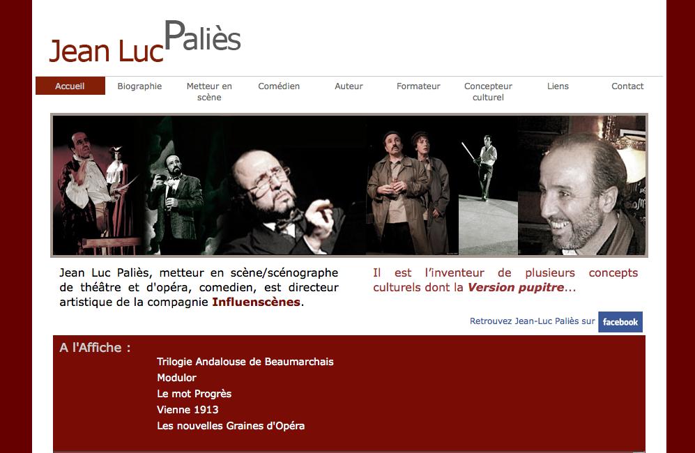 Jean-Luc Paliès - metteur en scène
