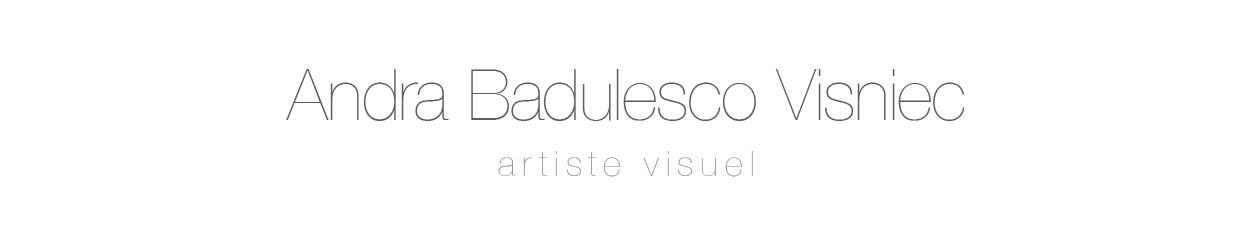 Andra Badulesco Visniec, graphiste, webdesigner, scénographe