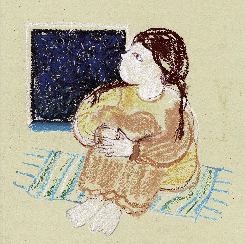 Extraterestrul care isi dorea ca amintire o pijama de Matei Visniec, ilustratii Andra Badulescu, Editura Arthur 2019